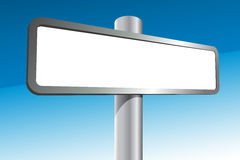 Blank Signpost Stock Images