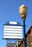 Blank Signpost Royalty Free Stock Image