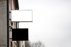 Blank signs Royalty Free Stock Images