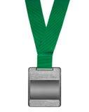 Blank silverutmärkelse Arkivfoton