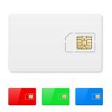 Blank SIM card Stock Photography
