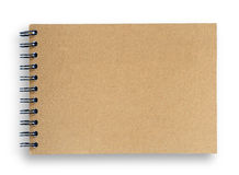 Blank sketch book. Royalty Free Stock Images