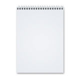 Blank Sketch pad Royalty Free Stock Photography