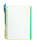 Blank Sketchbook Page Stock Photo