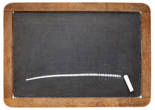 Blank slate balckboard Stock Photo