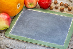 Blank slate blackboard Stock Photos