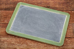 Blank slate blackboard sign Stock Images