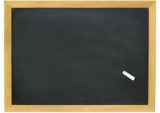 Blank slightly dirty blackboard Royalty Free Stock Images