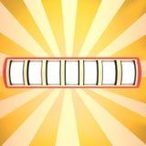 Blank slot machine Royalty Free Stock Photo