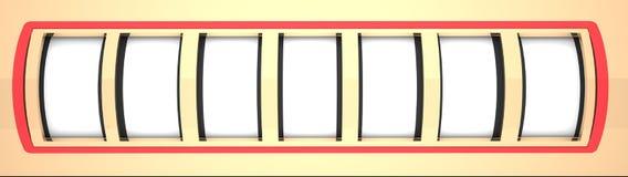 Blank Slot Machine