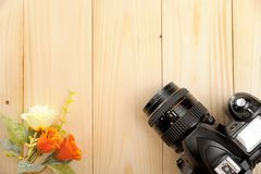 Blank slr camera screen Stock Photo
