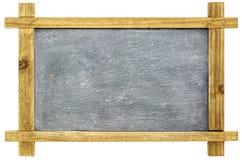 Blank sltate blackboard isolated Royalty Free Stock Images