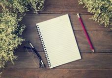 Blank Small notepad Royalty Free Stock Photography