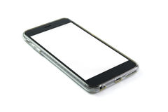 Blank smart phone Royalty Free Stock Image