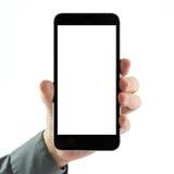 Blank smart phone Royalty Free Stock Photo