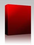 Blank software box royalty free illustration
