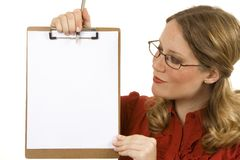 Blank Space Stock Image