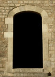 Blank space at a door Royalty Free Stock Photos