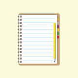 Blank space paper sheet page Royalty Free Stock Photos