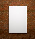 Blank Space Poster Or Art Frame Waiting To Be Filled Stock Photos