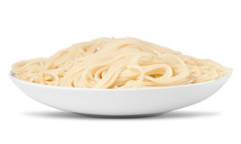 Blank spaghetti pasta Royalty Free Stock Images