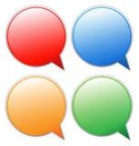 Blank speech bubble Stock Image