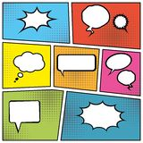 Blank speech bubbles Royalty Free Stock Photo