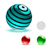 blank spheresvektor för färg stock illustrationer