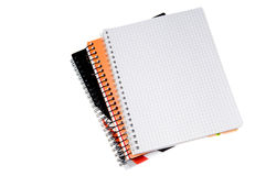 Blank spiral notebook page Royalty Free Stock Photography