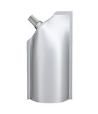 Blank spout pouch Stock Photography