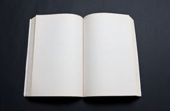 Blank spread of book Royalty Free Stock Images