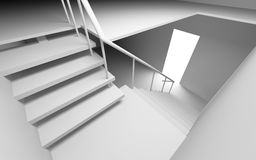 Blank stair Royalty Free Stock Photography