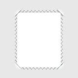 Blank stamp frame Stock Image