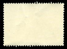 Blank stamp, macro Stock Image