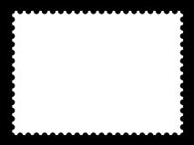A blank stamp templates. Ready to be filled with your photos Royalty Free Stock Images