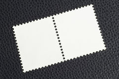 Blank Stamps. Pair of blank stamps Stock Photography