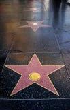 Blank stars. On the floor Royalty Free Stock Photos