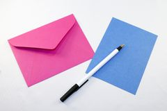 Blank Stationary Stock Photo