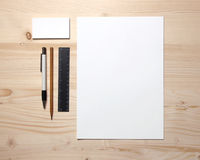 Blank stationery Stock Photography