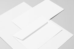 Blank stationery Stock Image