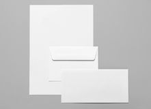 Blank stationery Royalty Free Stock Images