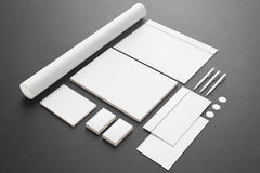 Blank Stationery / Corporate ID Set Royalty Free Stock Photo