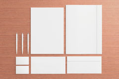 Blank Stationery / Corporate ID Set Royalty Free Stock Image