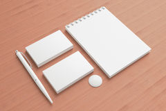 Blank Stationery / Corporate ID Set Stock Photography
