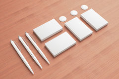Blank Stationery / Corporate ID Set Royalty Free Stock Images