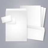 Blank Stationery And Corporate Identity Templates Stock Image