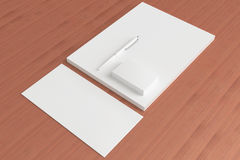 Blank Stationery ID Set for your design Stock Image