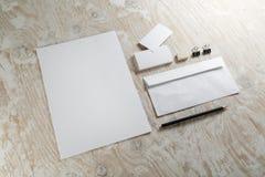 Blank stationery Royalty Free Stock Image