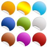 Blank sticker Royalty Free Stock Photography