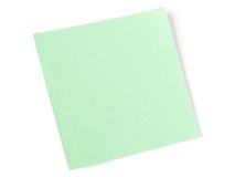 Blank sticker Royalty Free Stock Photo